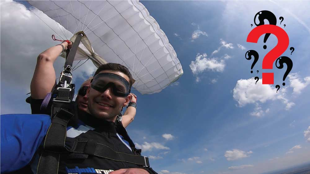 Tandem Skydiving knowledge base and FAQ