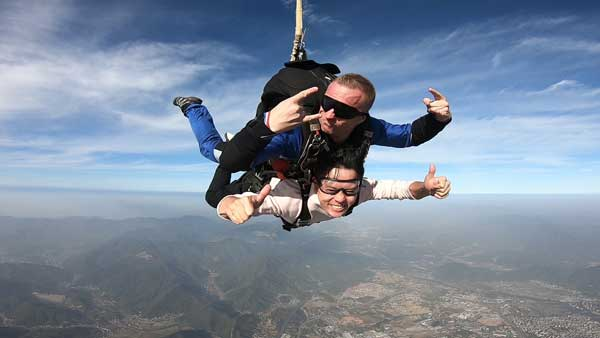 Tandem Skydive from 4000m